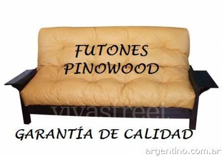 Futones pinowood f brica en quilmes tel fono for Precio de futones