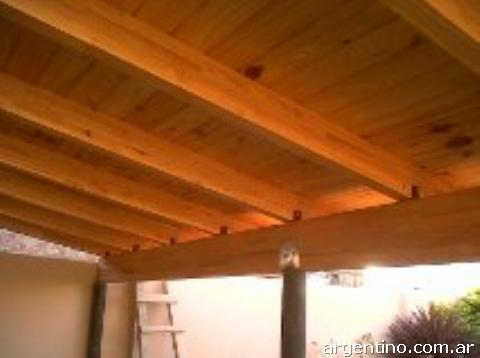 Jb maderas techos en c rdoba capital tel fono for Modelos de techos para galerias