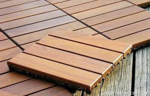 Baldosas para pisos deck en mar del plata tel fono for Deck para exteriores