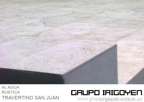 Grupo irigoyen travertino argentino al agua en haedo for Travertino al agua