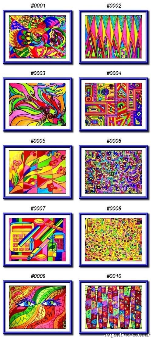 Fotos de cuadros abstractos modernos en flores for Imagenes cuadros abstractos modernos