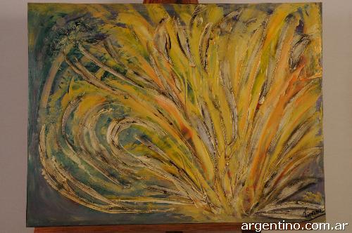 Fotos de cuadros abstractos collages florales - Cuadros figurativos modernos ...