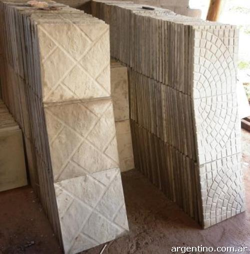 Fotos de f brica de baldosas y bloques de cemento en wanda for Fabrica de baldosas en santiago