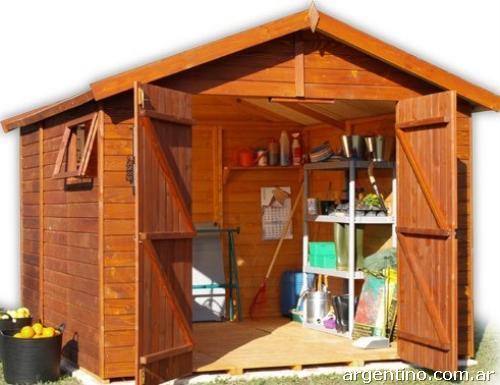 Caba as p rgolas decks galponcitos para jard n juegos for Cabanas infantiles en madera