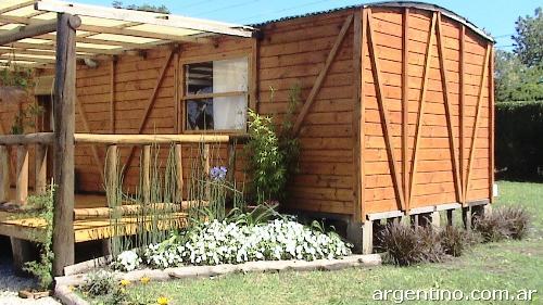 Fotos de caba as p rgolas decks galponcitos para jard n for Galpon de madera para jardin