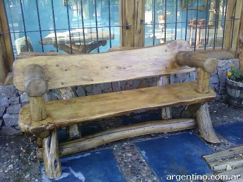 Fotos de muebles r sticos artesanales arte rustika en for Fotos muebles rusticos