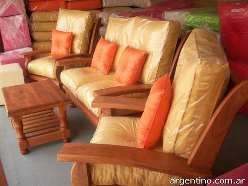 Fotos De Muebles De Algarrobo Mesas Sillas Living Modulares Pictures