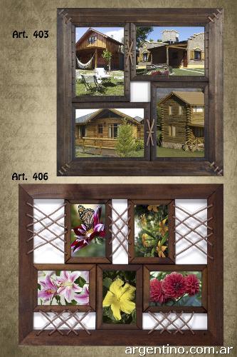 Cuadros y portarretratos decorativos en madera en san for Donde puedo comprar cuadros decorativos