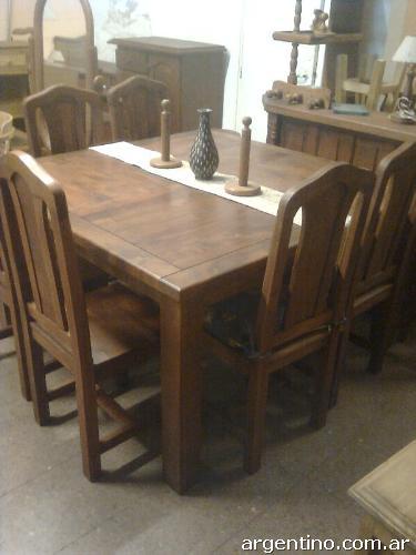 Muebles de algarrobo, pino, roble y laqueados wengue negro en ...