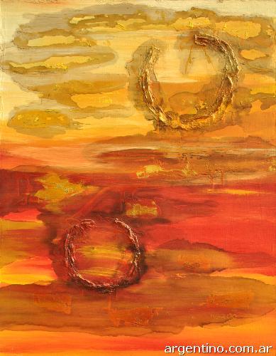 Fotos de venta de pinturas al leo abstractos y de for Comprar cuadros al oleo