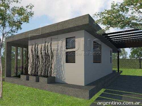 Casas prefabricadas madera premoldeadas en mendoza for Viviendas industrializadas precios