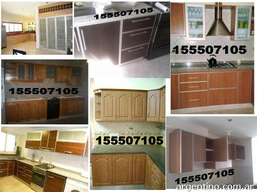 F brica placard vestidor cocina bajo mueble for Muebles baratos en capital federal