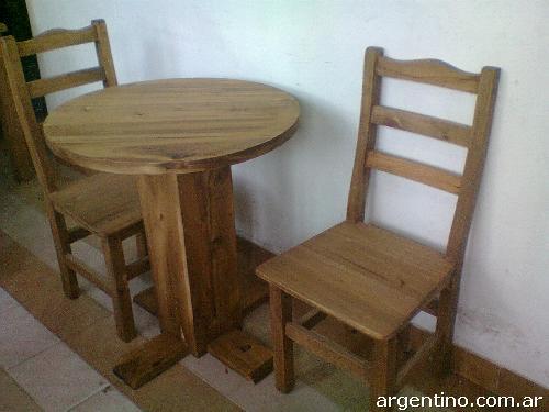Fotos de mesas redondas para bar restauranre pub pizzer as for Mesas de madera para bar