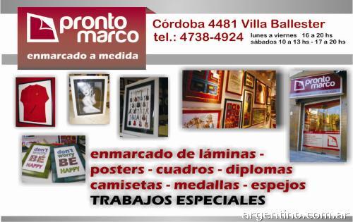 Fotos de prontomarco enmarcado de espejos y cuadros a for Cuadros a medida