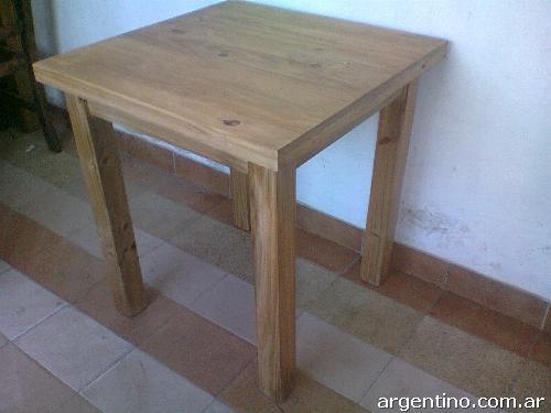 Muebles la carreta com ar f brica venta mayorista de for Mesas de madera para bar