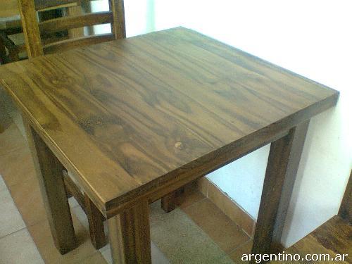 Mesas y sillas para bar r stico moderno al mejor precio en for Mesas de madera para bar