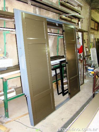 Fotos de portones de garaje en campana - Portones para garaje ...