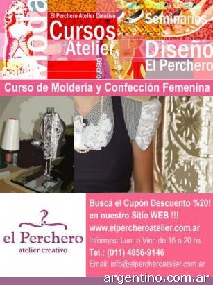1b1a79076 Curso de Molderia y Confección Femenina en Palermo: teléfono
