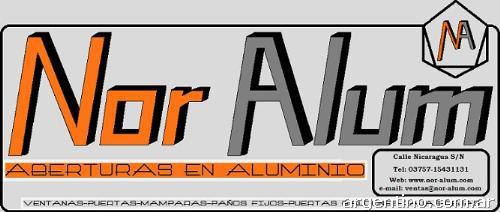 Fotos de nor alum f brica aberturas de aluminio misiones for Fabrica de aberturas de aluminio