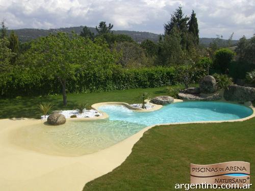 Fotos de piscinas de arena empresa l der en contrucci n de for Fotos de piscinas de arena