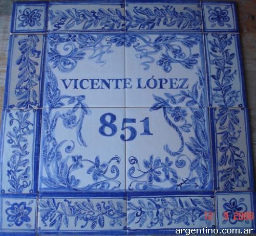 Fotos de azulejos antiguos y may licas en adrogu - Azulejos clasicos ...