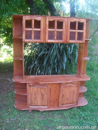 Mueblería de pino macizo, natural y lustrado en Rosario teléfono