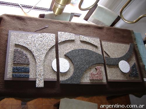 Murales en madera y m rmol molido para decoraci n de ambientes en olivos tel fono - Murales de madera ...