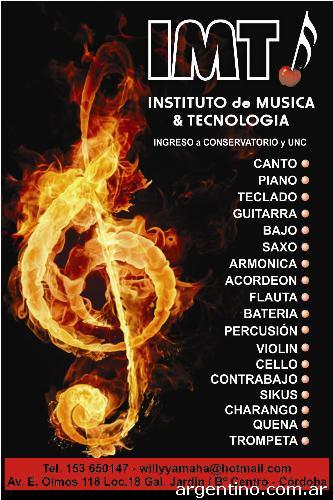 escuela musica cordoba:
