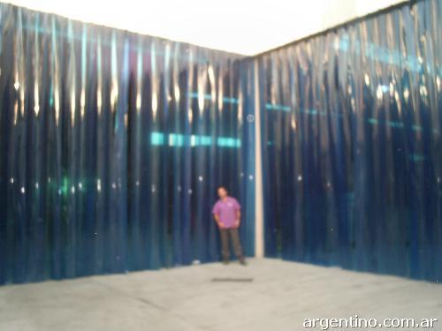 Fotos de plastic doors cortinas en tiras de pvc en mart nez Cortinas plegables de pvc