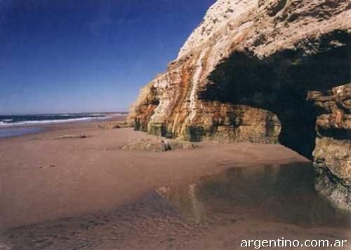 Balneario Las Grutas El Mar Mas C 225 Lido De La Costa