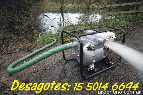 Bombas de agua y desagote de s tanos piletas garages for Alquiler de bombas de agua