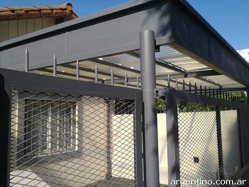 Fotos de techos para quincho techos entrada autos garaje for Garajes para carros