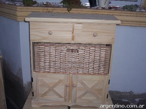 Fotos de muebles de pino en Neuquén Capital