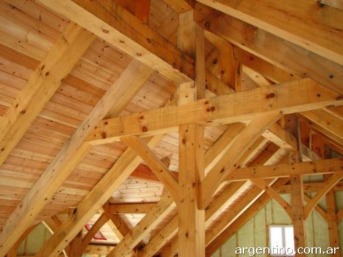 Techista techos de maderas en ituzaing for Tejas livianas para techos
