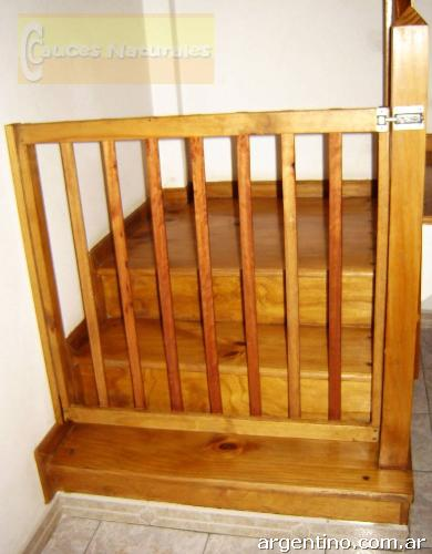 Puertas de seguridad y protecci n escaleras pasillos bebes - Puertas seguridad ninos ...