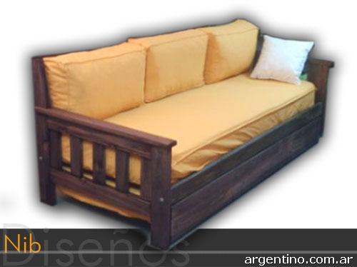 Nib div n doble div n triple futones div n cama zona for Muebles de oficina zona san martin