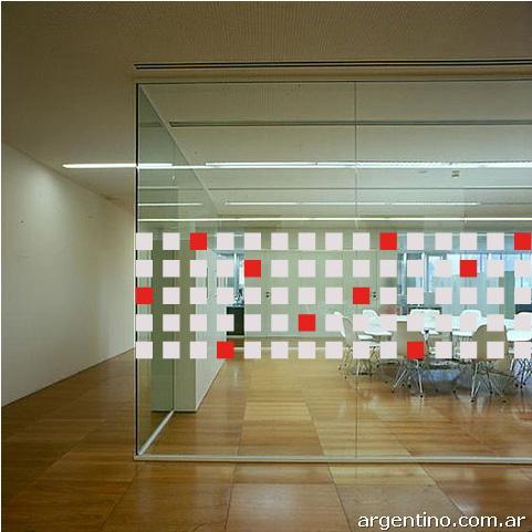 Fotos de vinilos decorativos para vidrieras casas y for Vinilos decorativos oficina