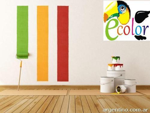 Pintura l tex interior exterior elastomerico lavable for Pintura latex interior