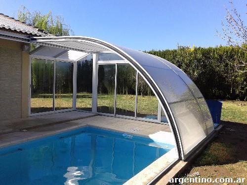 Fotos de cerramientos y techos m viles cobertores para for Cobertores para piscinas