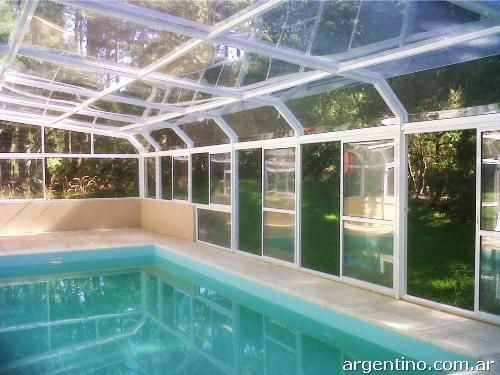 Cerramientos y techos m viles cobertores para piscinas patios jacuzzis balcones en puerto - Cerramientos para piscinas ...