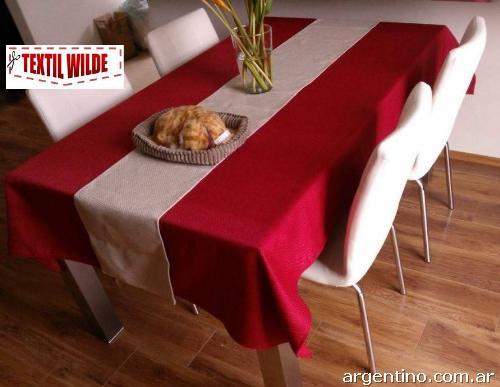 Textilwilde manteler a servilletas manteles cubremanteles - Manteles y caminos de mesa ...