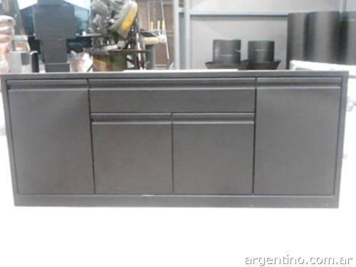 Muebles de cocina con mesada de acero inoxidable azarak - Muebles de cocina inox ...