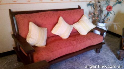 Fotos de sillones de algarrobo en buen estado en Olavarría