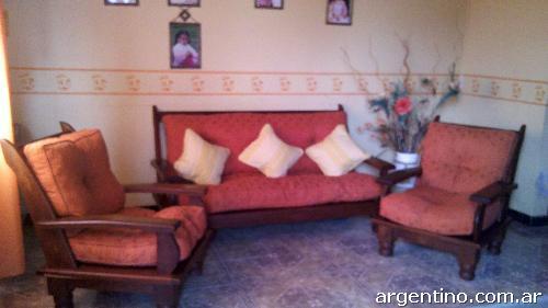 Decoracion living muebles de algarrobo for Mueble de algarrobo para living
