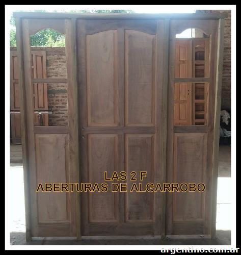 Aberturas de algarrobo las 2 f en quitilipi tel fono for Aberturas de madera en rosario precios