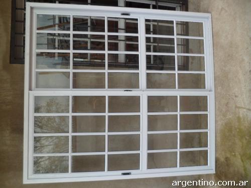 Fotos de aberturas de aluminio puertas de chapas for Aberturas de aluminio puertas