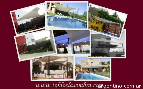 Toldos vela velas de sombra chill out terrazas garages for Jardines pequenos triangulares