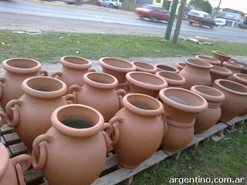 Macetas barro maceta terracota macetas barro artesana macetas de barro cocido pintadas al - Jardineras de terracota ...