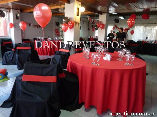 Dandreventos decoraci n de salones decoraci n con telas decoraci n con globos en tigre - Paginas web de decoracion ...