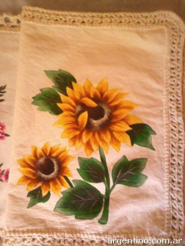 ... lienzo con crochet-en artu00edculos para el hogar en Corrientes Capital 4